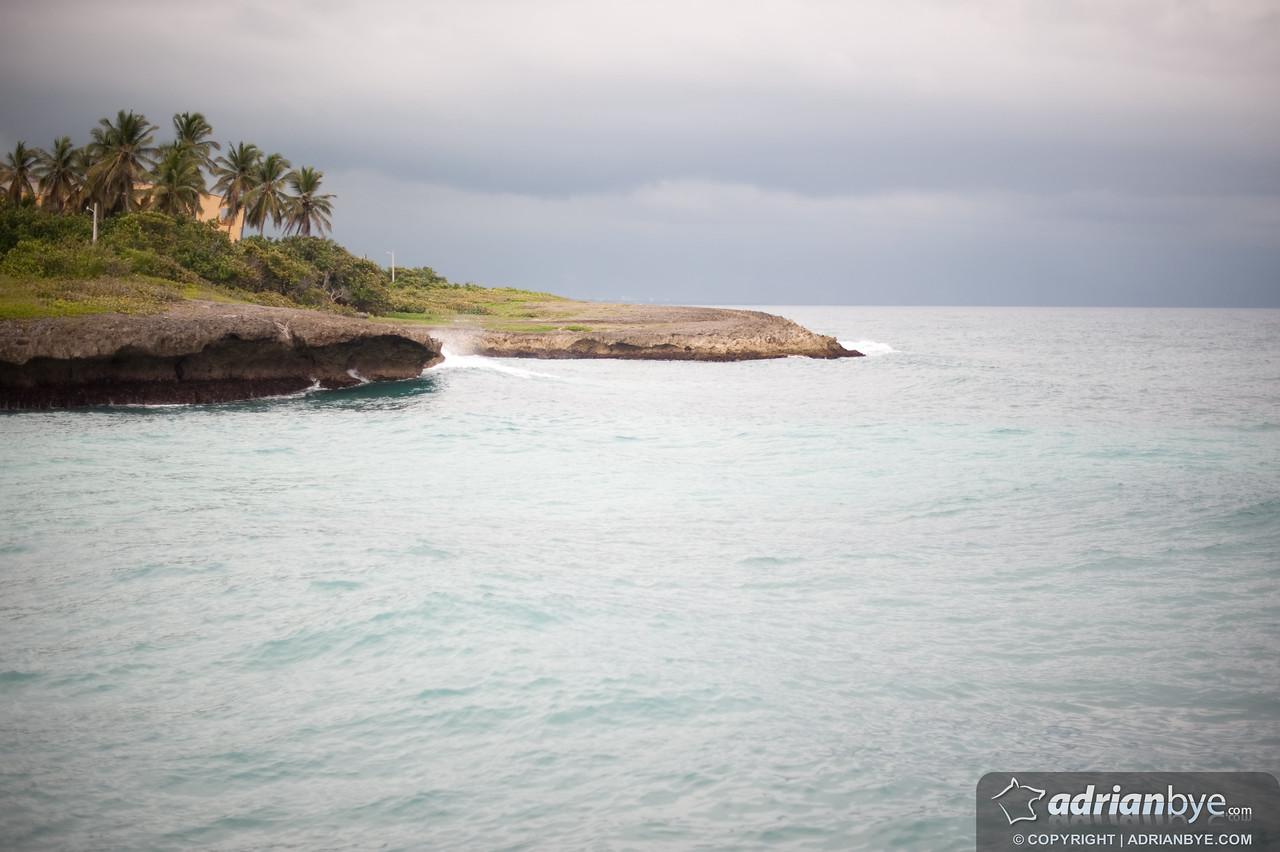 The waves, near Santo Domingo