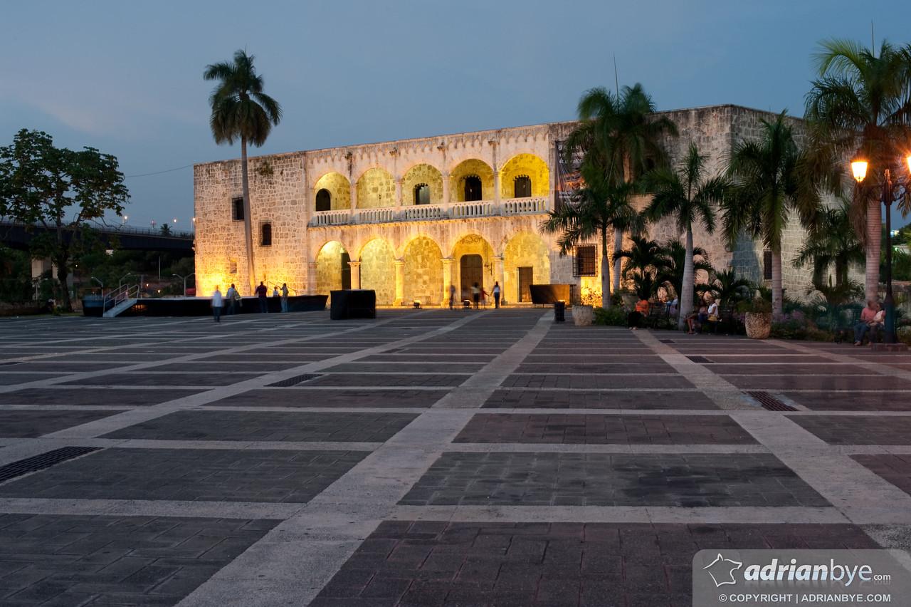 The Zona Colonial in Santo Domingo