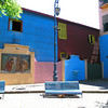 The colorful buildings of Caminito in Buenos Aires, Argentina