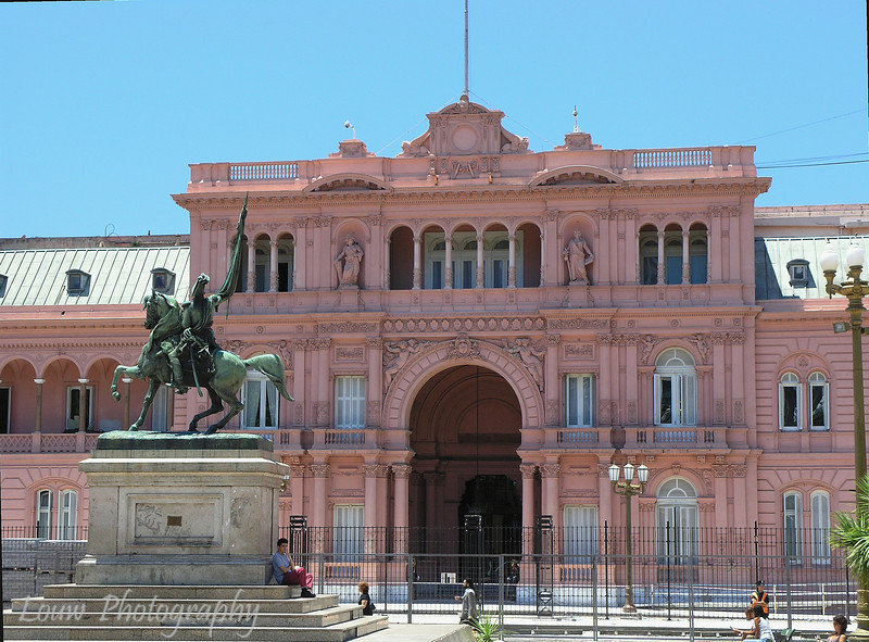 Casa Rosada (home to the Presidential offices), Buenos Aires, Argentina