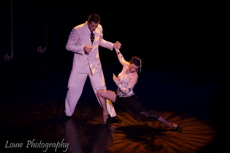 Tango show at Esquina Carlos Gardel, Buenos Aires, Argentina