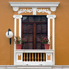 Decorative window, Quito, Ecuador