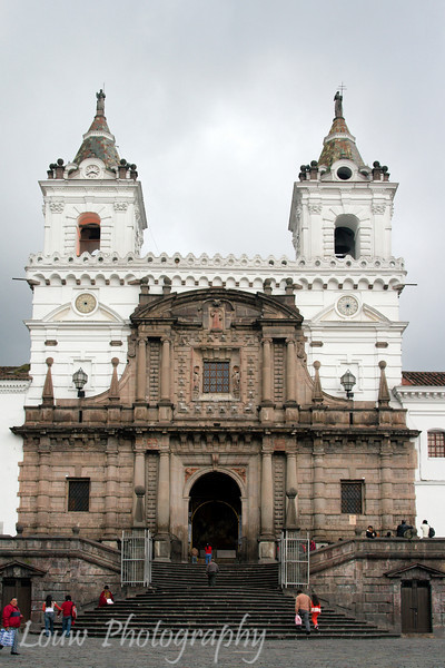 Iglesia de San Francisco (San Francisco Church), Quito, Ecuador