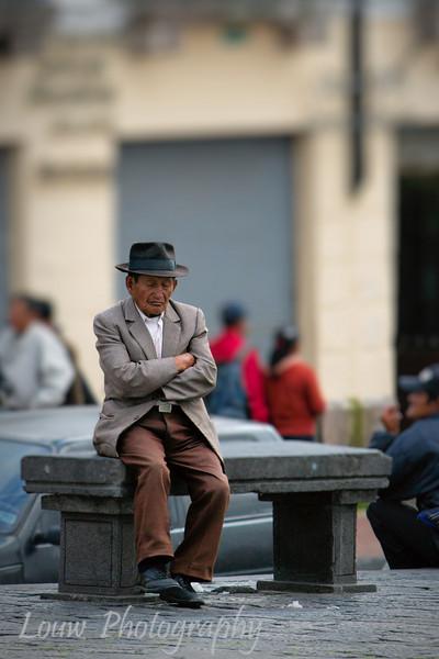 Street scene, Quito, Ecuador