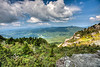 Summit view from Grandfather Mountain - Linville, NC - Blue Ridge Mountain range