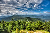 Touring the Blue Ridge Mountains - Views from Mt. Mitchell - North Carolina