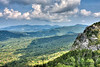 View from the summit of Grandfather Mountain - Linville, NC - Blue Ridge Mountain range