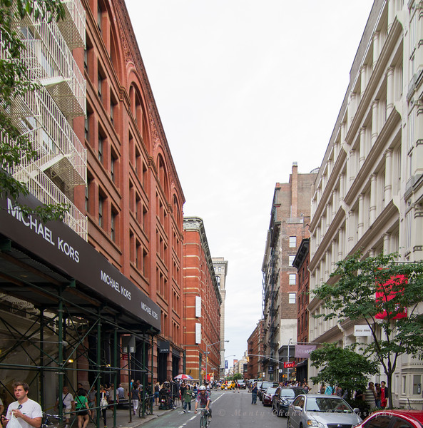 SOHO - near Mercer Street - upscale shopping
