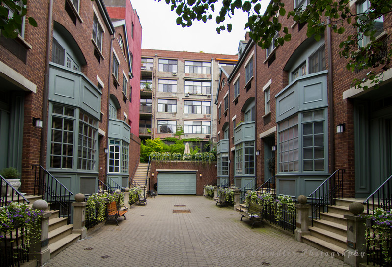 A small gated community in Greenwich Village