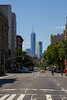 Looking down 6th Ave - Freedom Towers