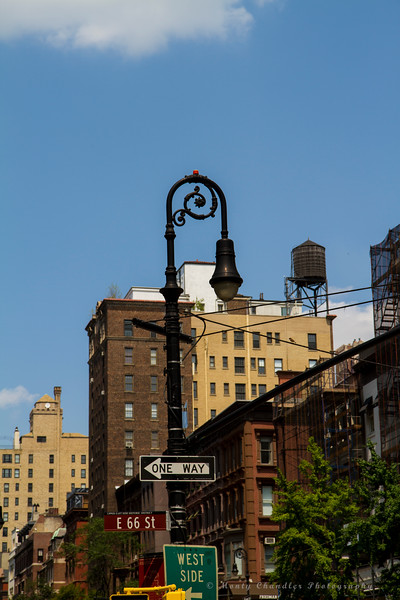 Ornate street light - Madison Ave & E66th St.