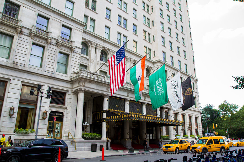 The Plaza Hotel - near Central Park