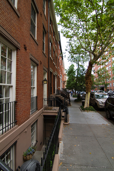 The Brownstones of Greenwich Village