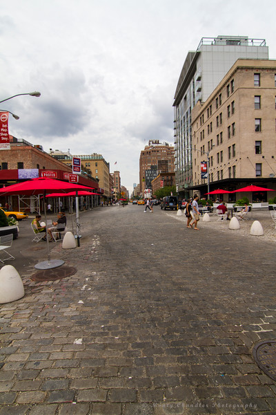 Old Cobblestone Streets of the Meat Packing District of NYC