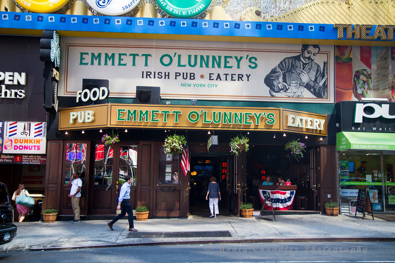 An Irish Pub near Times Square