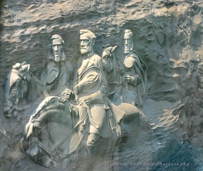 Stone Mountain carving - Atlanta - 12
