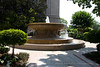 A fountain outside the National Gallery of Art building