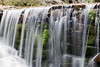 Image of the lowest of the Seven Falls in the Seven Falls Park in Colorado Springs