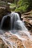 Image of the top falls at Seven Falls in Colorado Springs