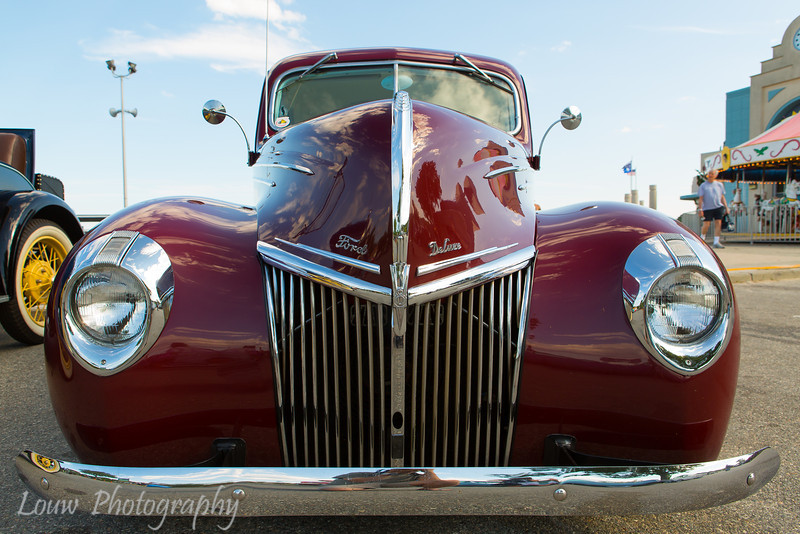 Ford Deluxe, Ocean Beach Park, New London, CT