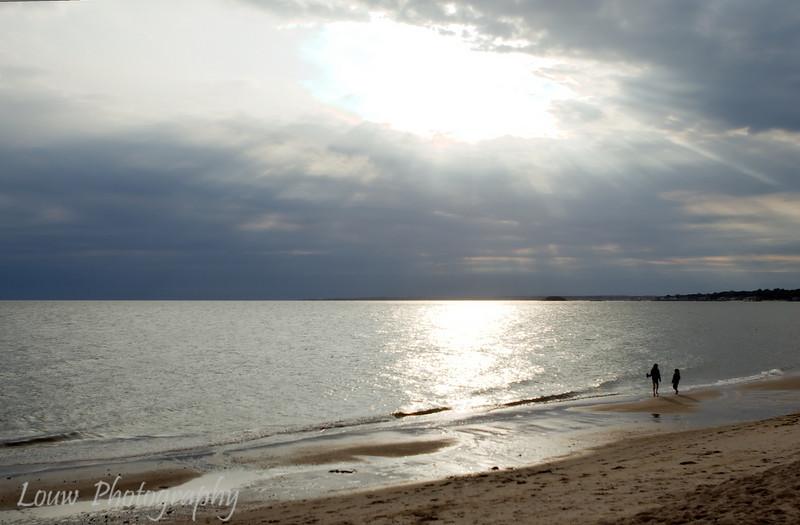 Sunset at Hammonasset Beach State Park, Madison, CT