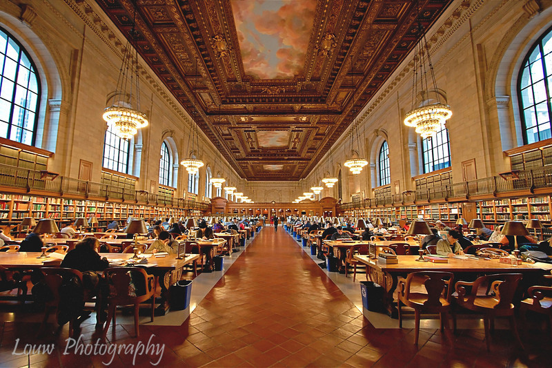 New York Public Library, New York, NY
