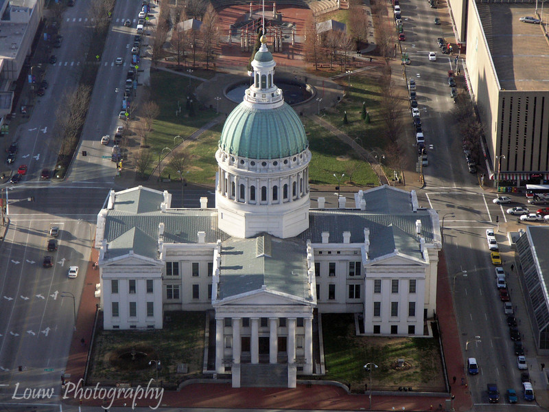 Historical Old Courthouse, St. Louis, Missouri