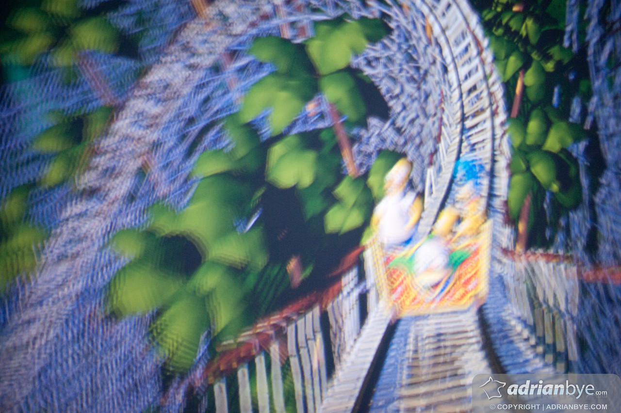 This animated rollercoaster was amazing!