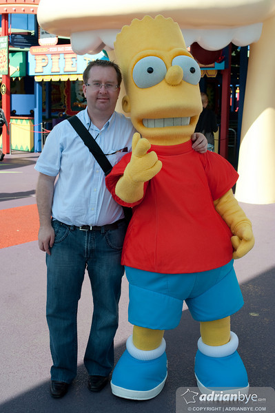 With my best friend Bart!