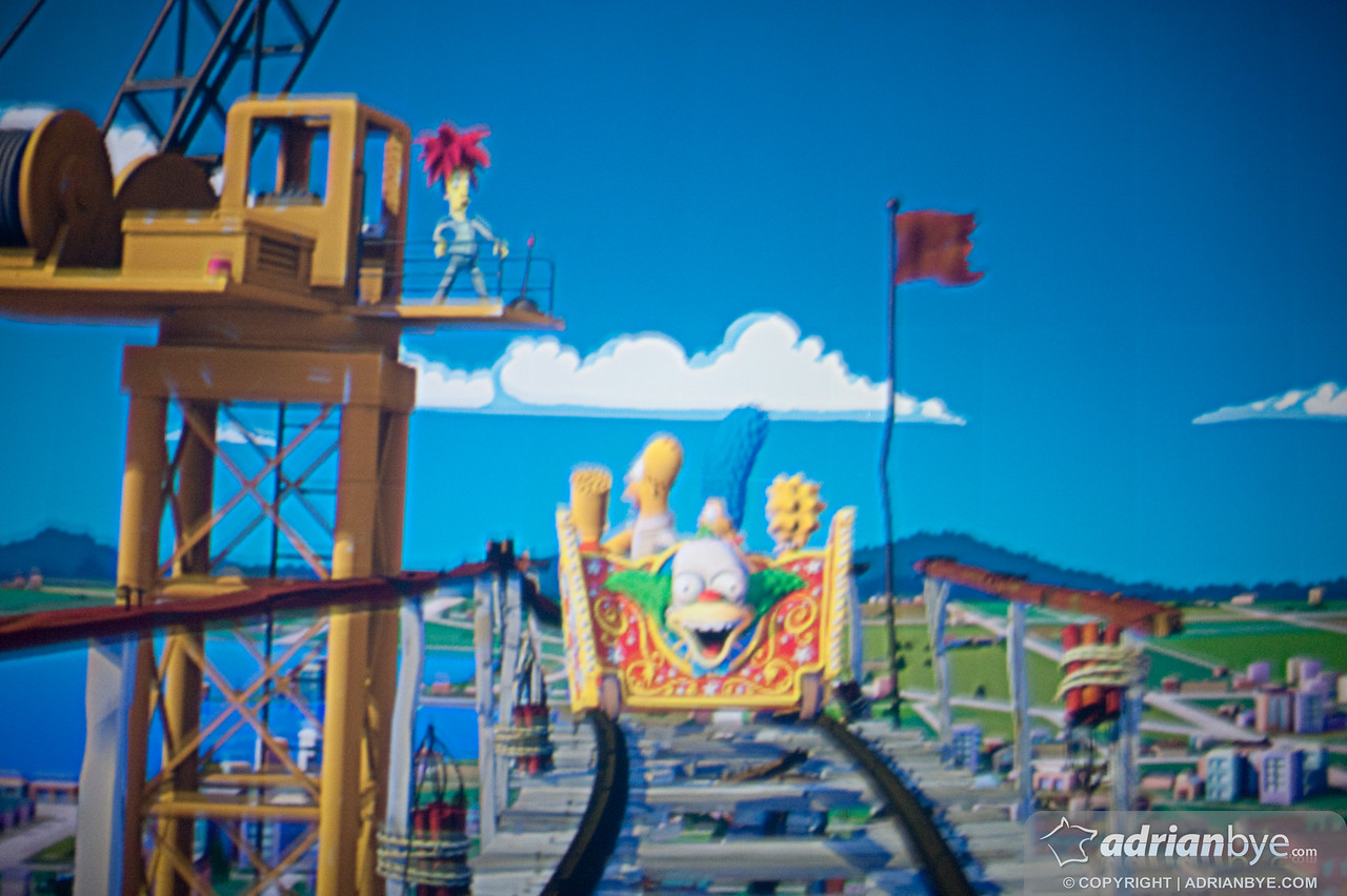 The greatest rollercoaster ever - the simpsons