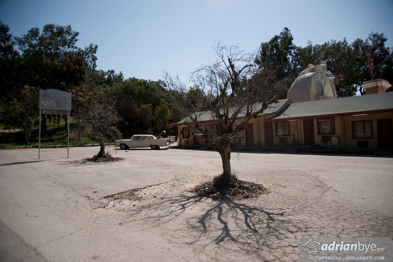 """The location of """"psycho"""" from Alfred Hitchcock - the Bates motel"""