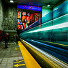 Berri-Ugam Metro train - Montreal<br /> © Sharon Thomas