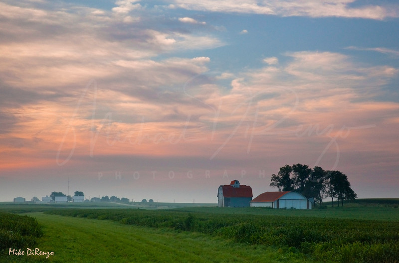 Iowa Prarie Sunrise 1425  w4