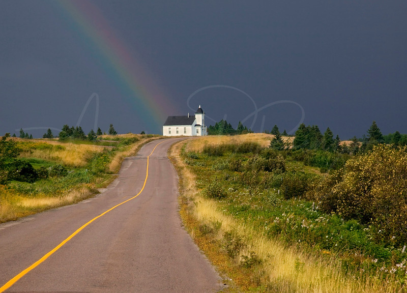 Rainbow to the Church 5020 w13