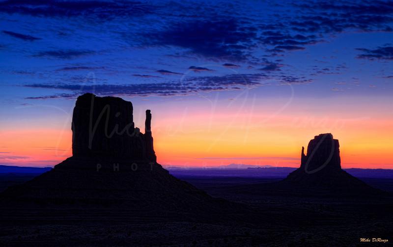 Mittens Blue Hour at Dawn 3187 w64