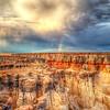 Coal Mine Canyon and Rainbow 6827   w21