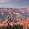 South Rim Grand Canyon Sunset  7606