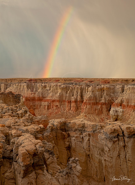 Coal Mine Canyon Rainbow 6391 w65