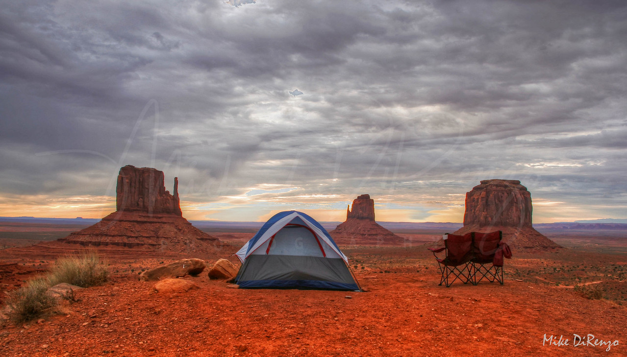 Campsite #25 - Monument Valley  3629  w25