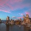 Tufa Lake Sunset 5727 w64