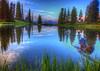 Blue Lake - Gunnison Wilderness Colorado  0541  w25