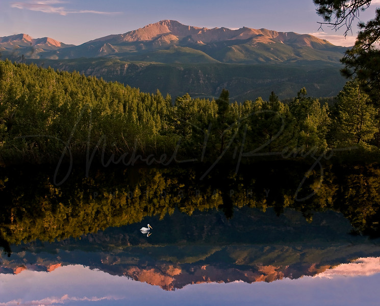 Reflections of Pike's Peak   0952
