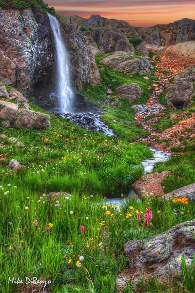Purfory Basin Falls  0671  w24