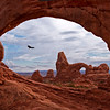 Turret Arch Through South Window Arch w2