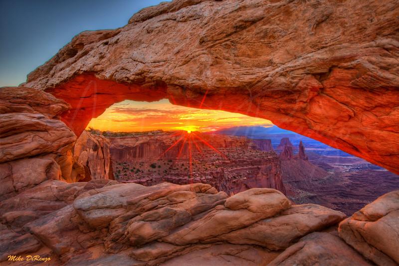 Mesa Arch at Dawn  3066 w55