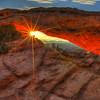 """""""Here Comes the Sun""""  Mesa Arch - Utah  3216   w22"""