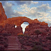 Turret Arch Sunrise  0408   w1
