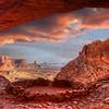 False Kiva - Canyonlands  1978   w21
