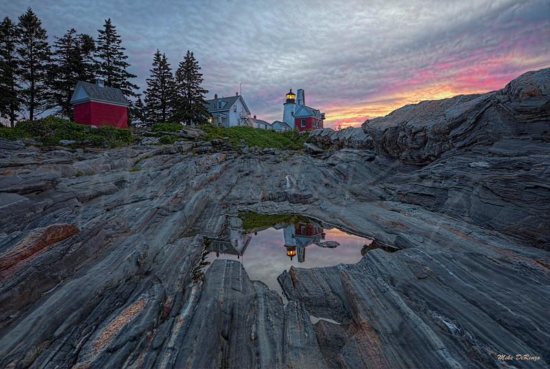 Pemaquid Point at Dawn  1680 w63