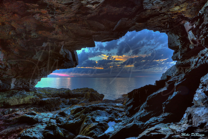Anemone Cave at Sunrise 0687 w57